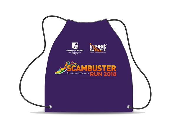 Scambuster Run 2018 Bag