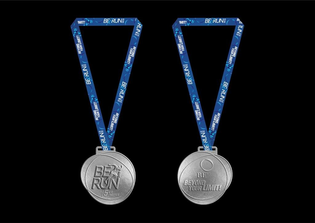 BE Run 2019 Medal