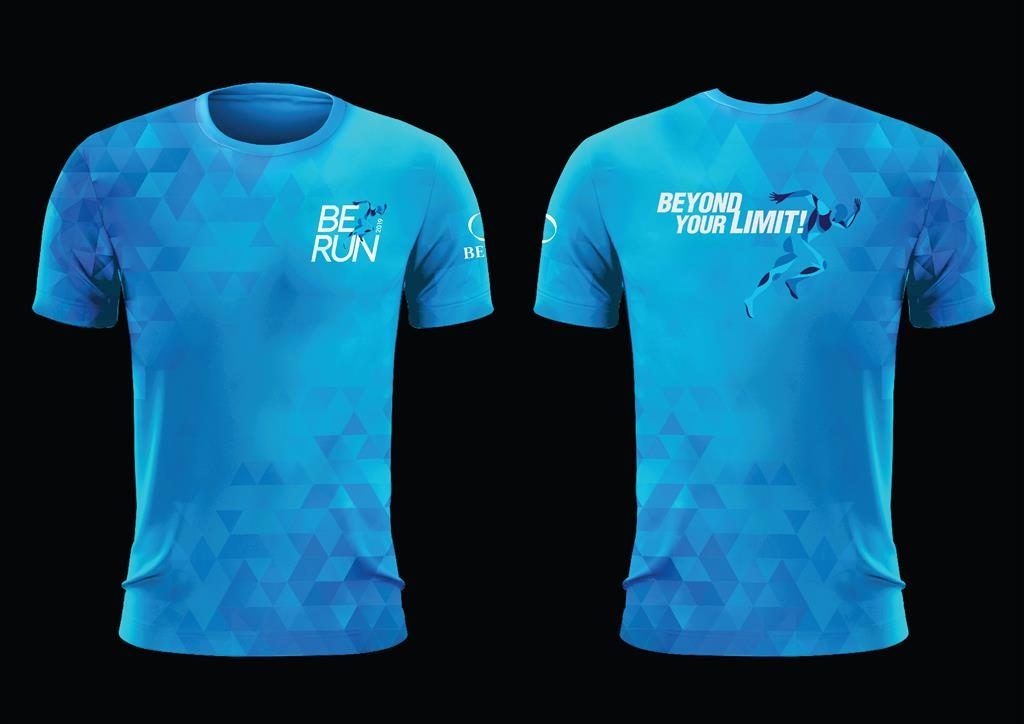 BE Run 2019 T-shirt